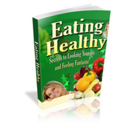Product picture Eating healthy -secrets to looking younger