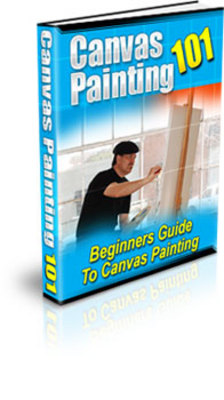 Product picture Canvas painting for beginners - Become an artist